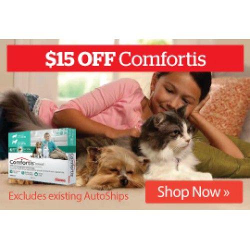 15 Off Comfortis Pet Co Nz Bargain Bro Pets Buy Pets New