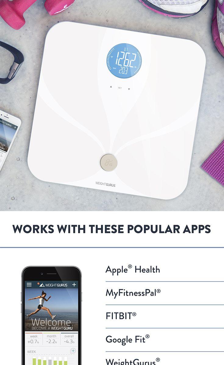 WiFi Smart Scale // White on White // (⌐ _ ) // Huge