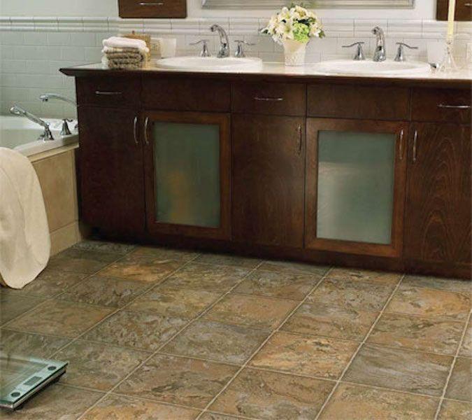 Bathroom Flooring Types  Bathroom Interior  Pinterest  Flooring Fair Bathroom Flooring Options Design Decoration