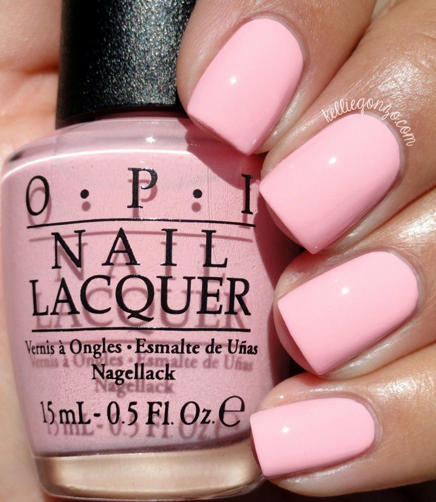 Opi Baby Pink Nail Polish New Opi What S the Double Scoop Kelliegonzoblog