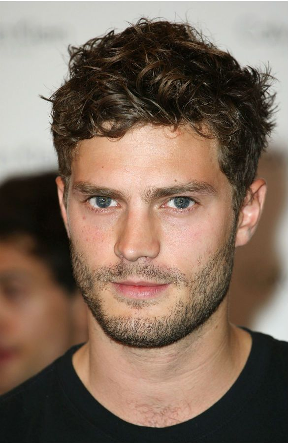 Jamie Dornan. The actor playing Christian Grey... i feel i need to actually read the books on my shelf and go see this film just to see this hottie!