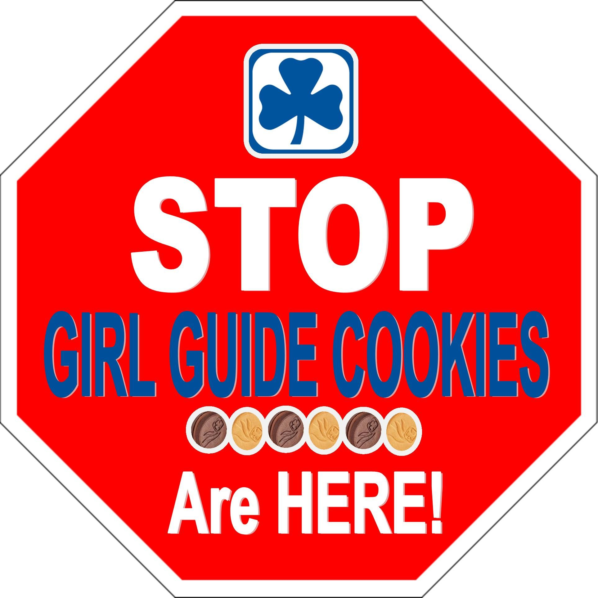 Stop Its Girl Guide Cookie Time Girl Scouts Pinterest Girl