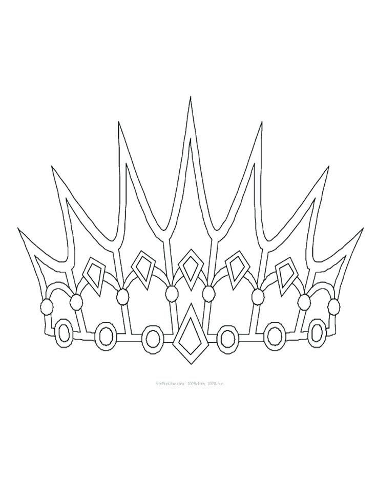 Crown Printable Template Pattern Customize Your Free Printable