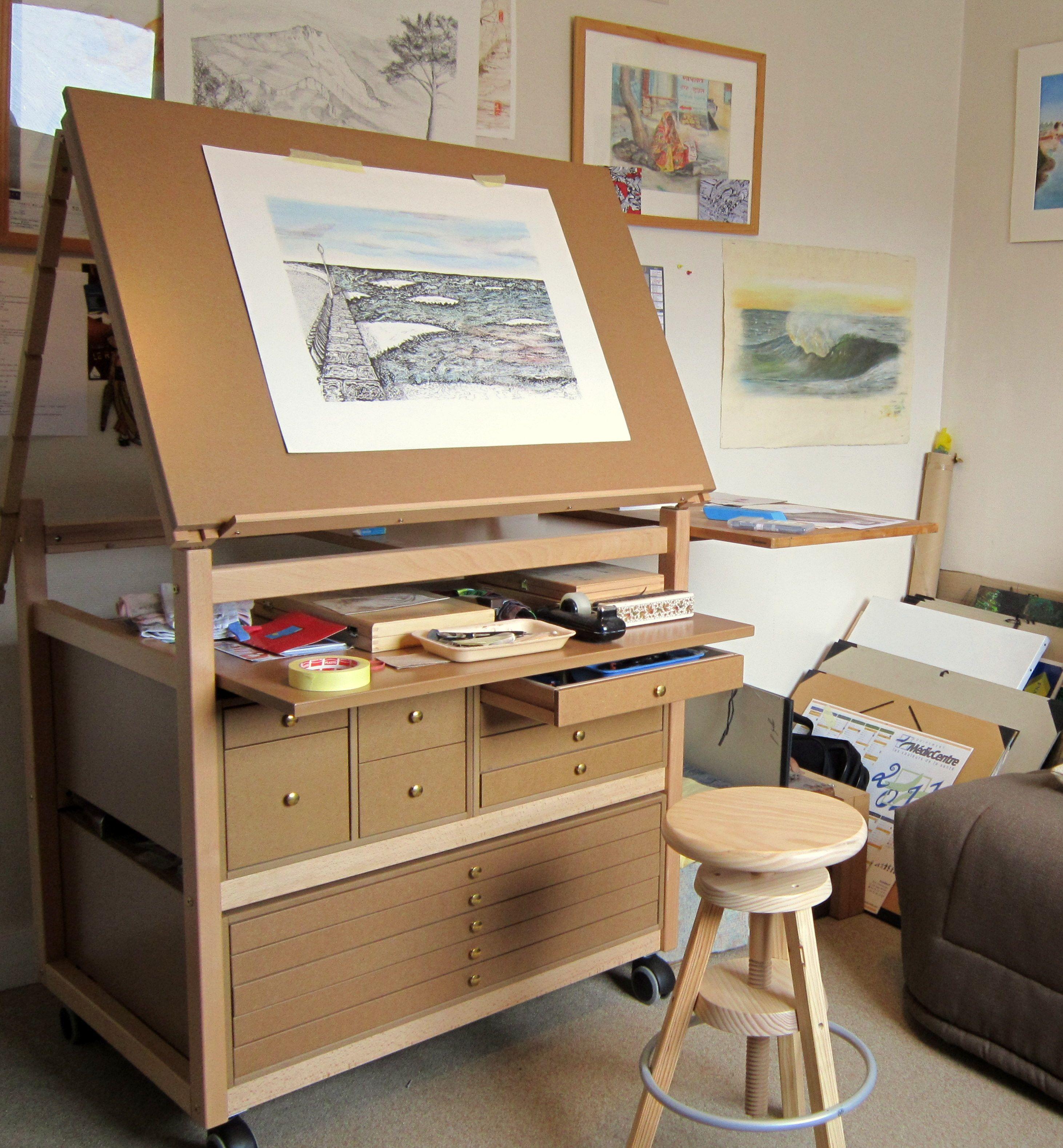 Le Meuble Atelier D Art Chez Vous Meuble Atelier Organisation De Studio D Art Atelier Decoration