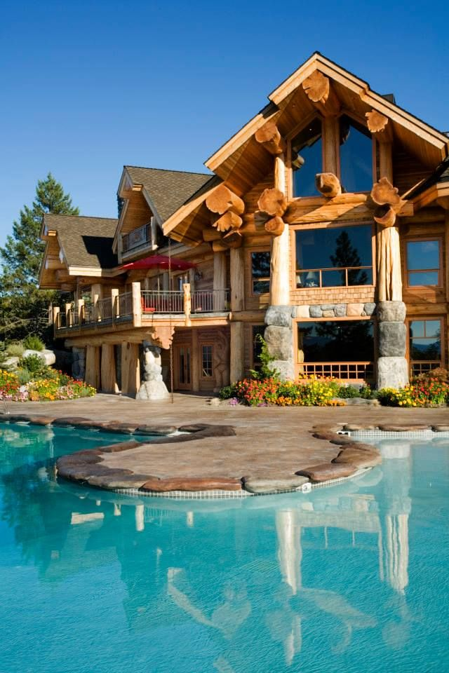 timber kings if you can dream it they can build it timber kings pioneer log homes. Black Bedroom Furniture Sets. Home Design Ideas