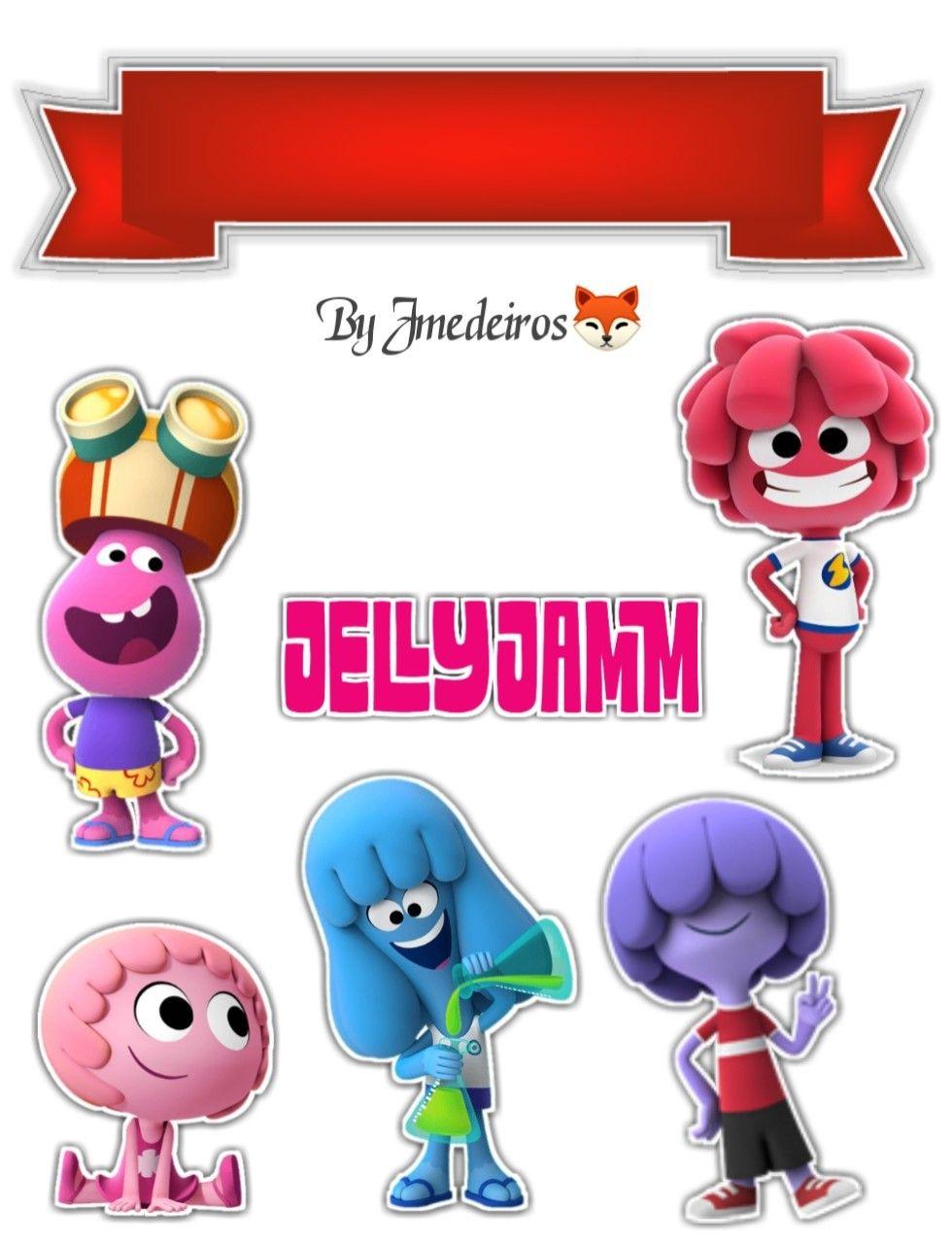 Pin De Monica Sugiarto Em Jelly Jam Com Imagens Desenhos
