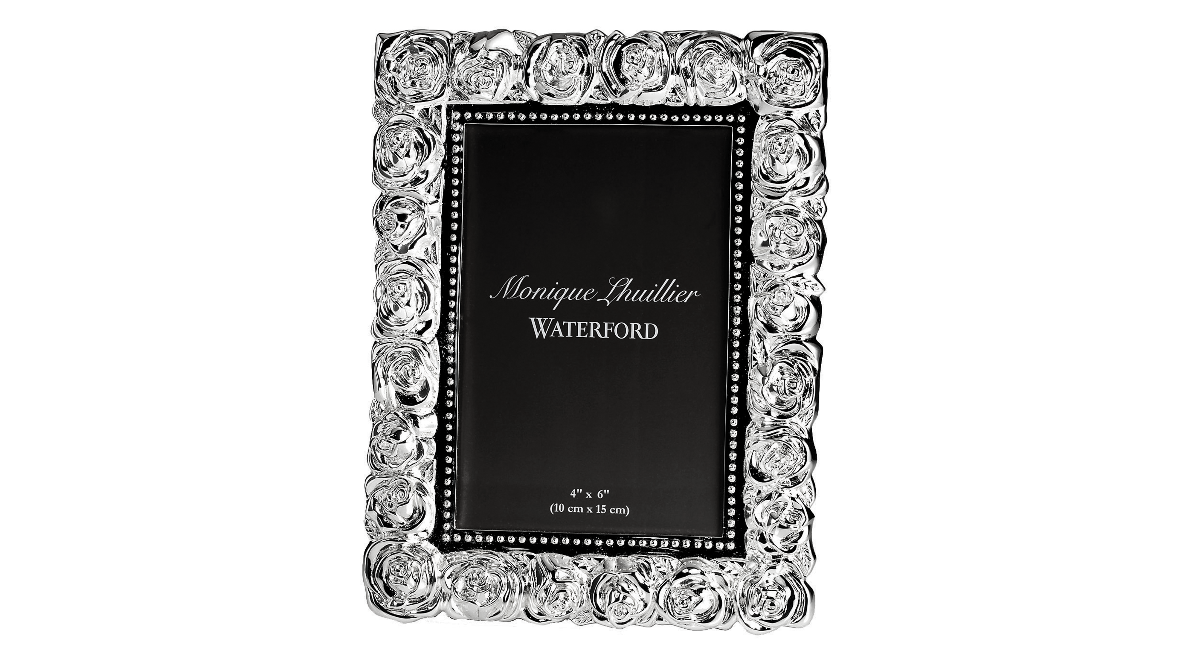Monique Lhuillier Waterford Picture Frame Sunday Rose 4 X 6