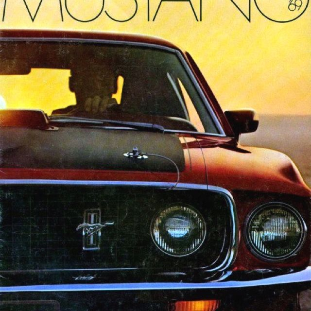 Ford ad for the '69 Mustang