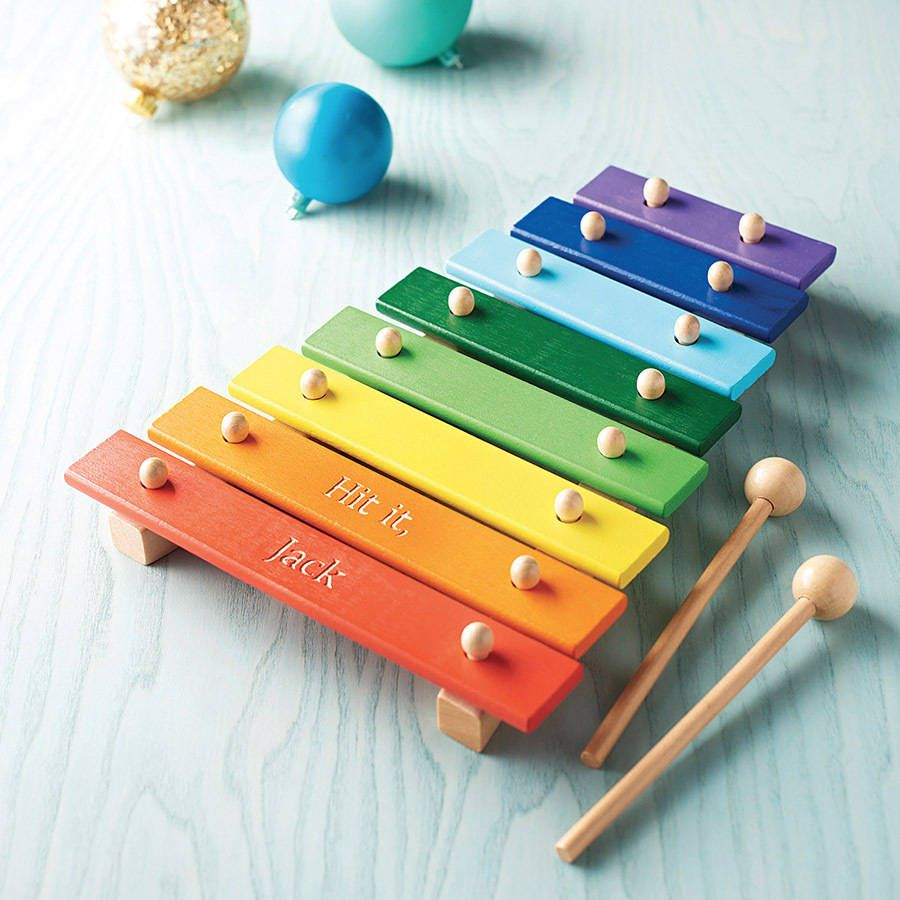 personalised wooden xylophone | rock painting | educational