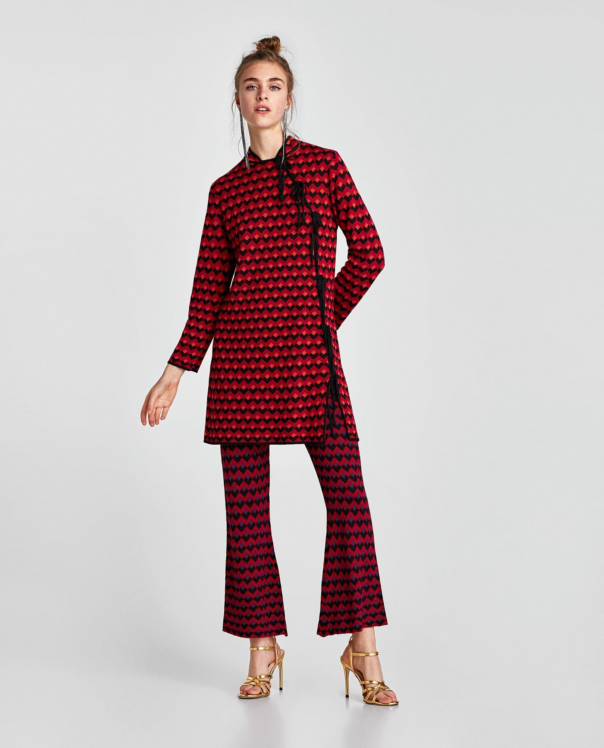 Pin by wahida on zara pinterest jacquard dress zara women and woman