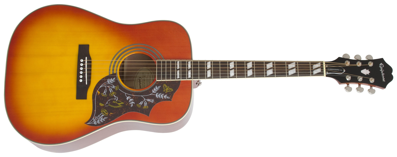 Epiphone hummingbird pro acousticelectric guitar best