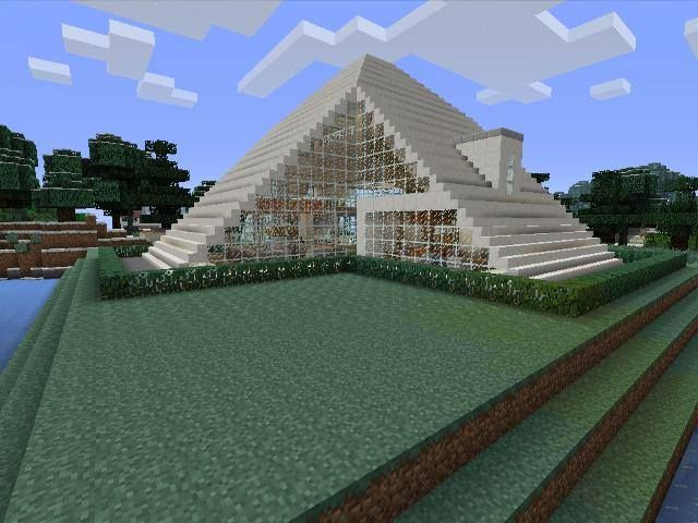 Minecraft gaming xbox xbox360 house home creative mode for Maison moderne minecraft xbox one