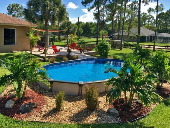 Top Arizona Backyard Ideas On A Budget For 2021 A Nest With A Yard Above Ground Pool Landscaping Backyard Pool Landscaping Landscaping Around Pool