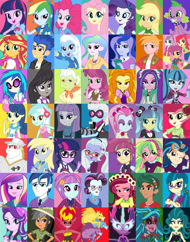 1518583 Absurd File Size Absurd Res Adagio Dazzle Alumnus Shining Armor Apple Blo My Little Pony Characters My Little Pony Poster My Little Pony Drawing