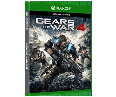 Gears of War 4 Standard Gears of war, Xbox one, Xbox one