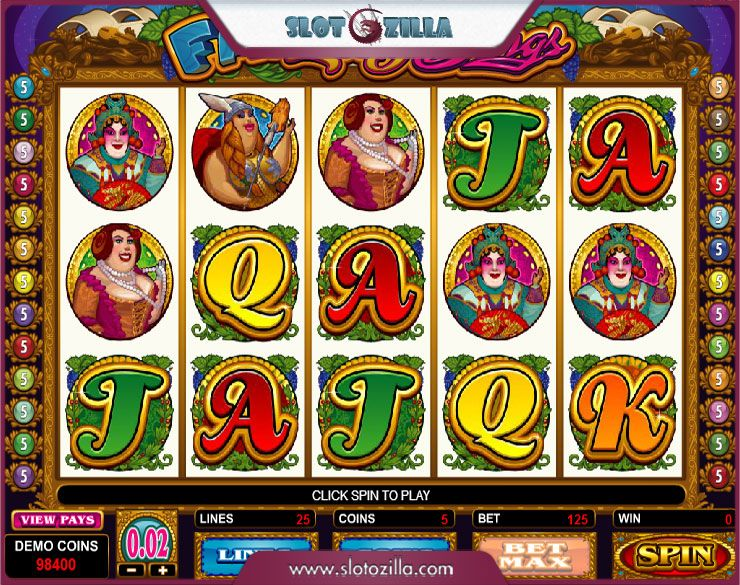 Play The Fat Lady Sings Slot With No Download Required
