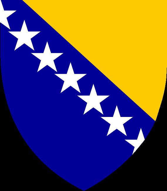 Republic Federal Bosna Hercegovina Stemma Monogramma Genealogia