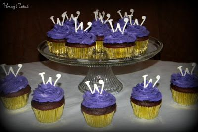 Willy Wonka Cupcakes :)