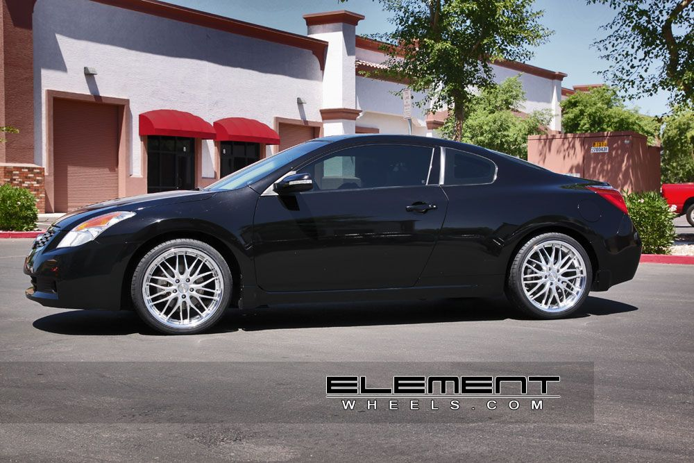 Nissan Altima Coupe with MRR GT1 Wheels by Elet Wheels in ...