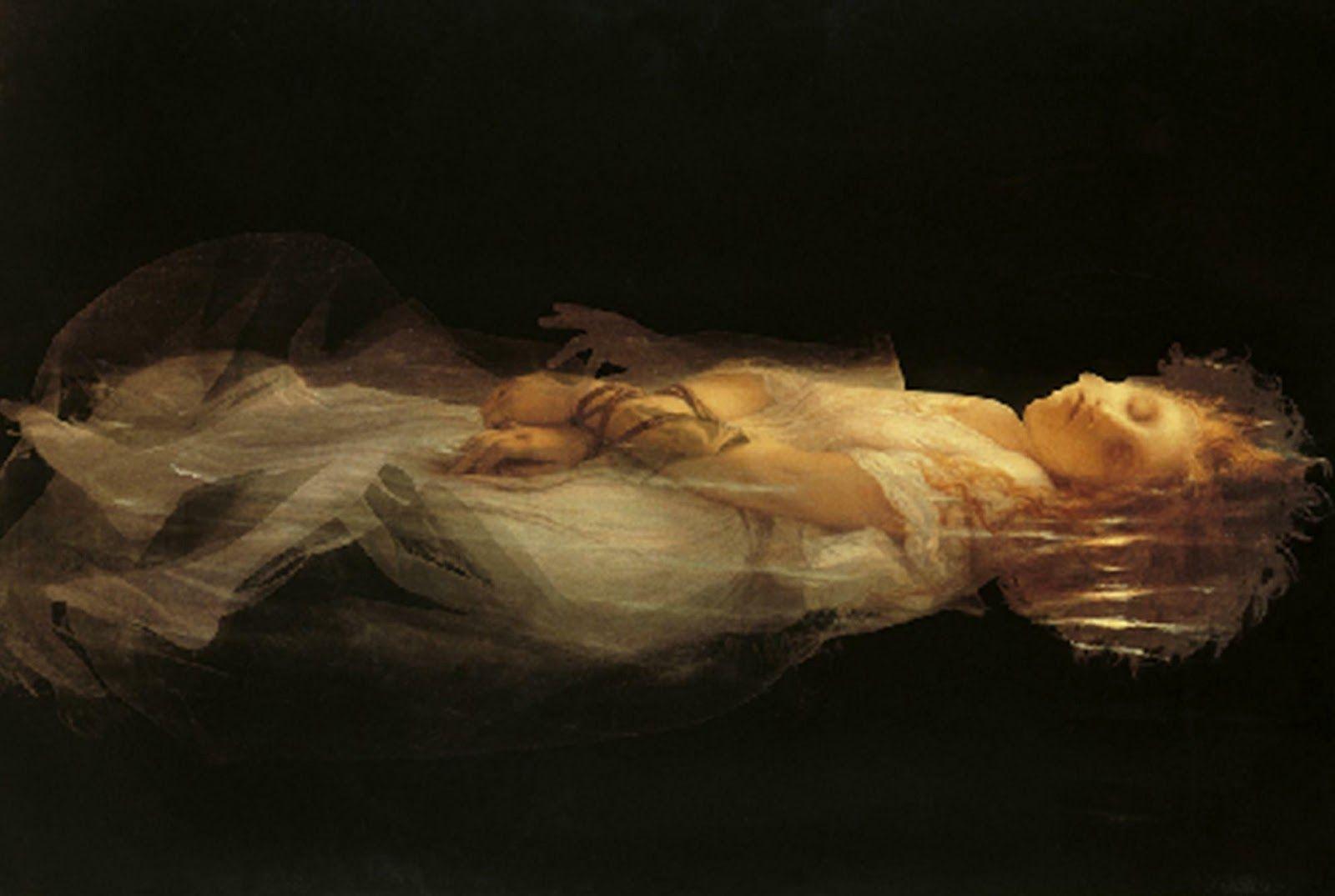 Joan Fontcuberta, Ophelia (1993), photogramme.   Photographie, Ophelie, Artiste