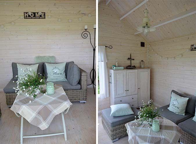 Bildergebnis für gartenhaus innenausstattung | Gartenhaus