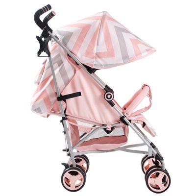 My Babiie MB51 From Birth Baby Stroller Pushchair Pram Buggy Blue Chevron
