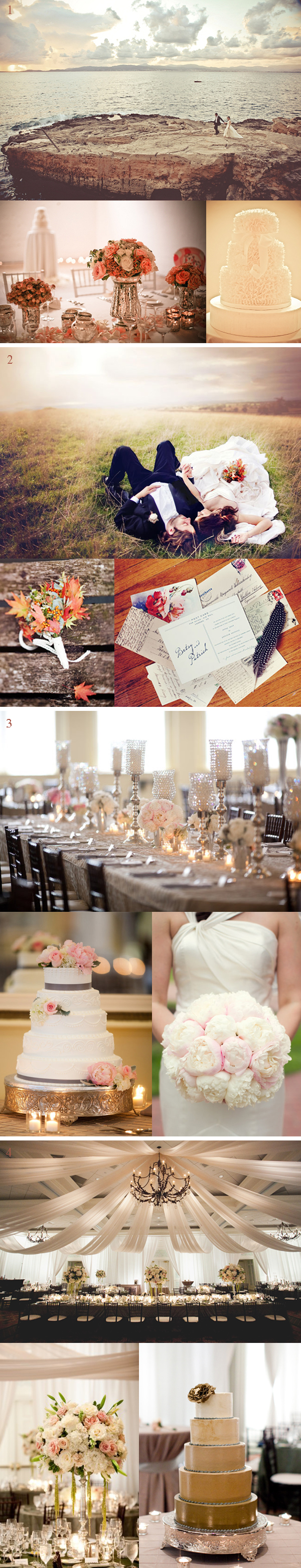 Pretty much everything about this is beautiful.  #wedding #ceremony #reception #style