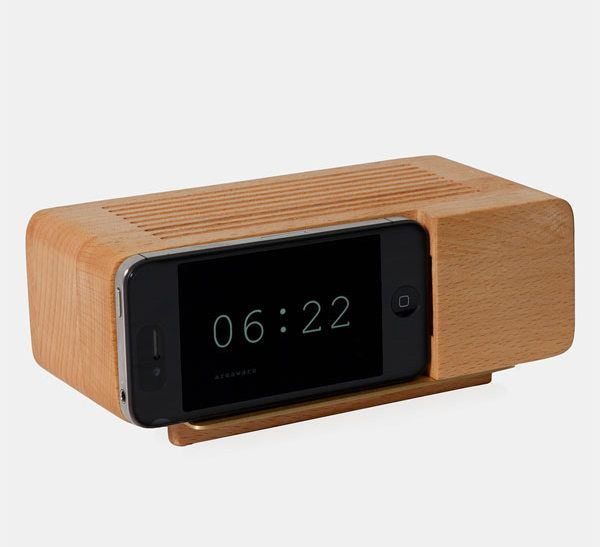 Check out the Retro iPhone Alarm Dock on