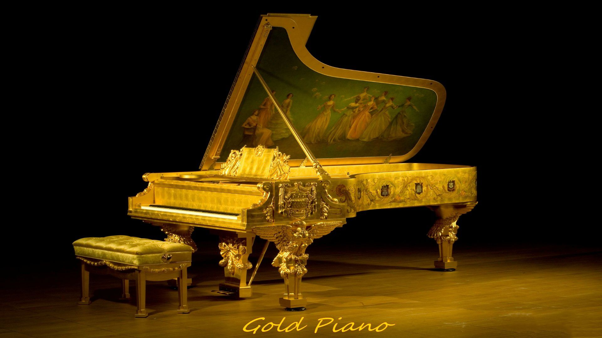 Baby Grand Piano Wallpaper 1920x1200 51 Wallpapers