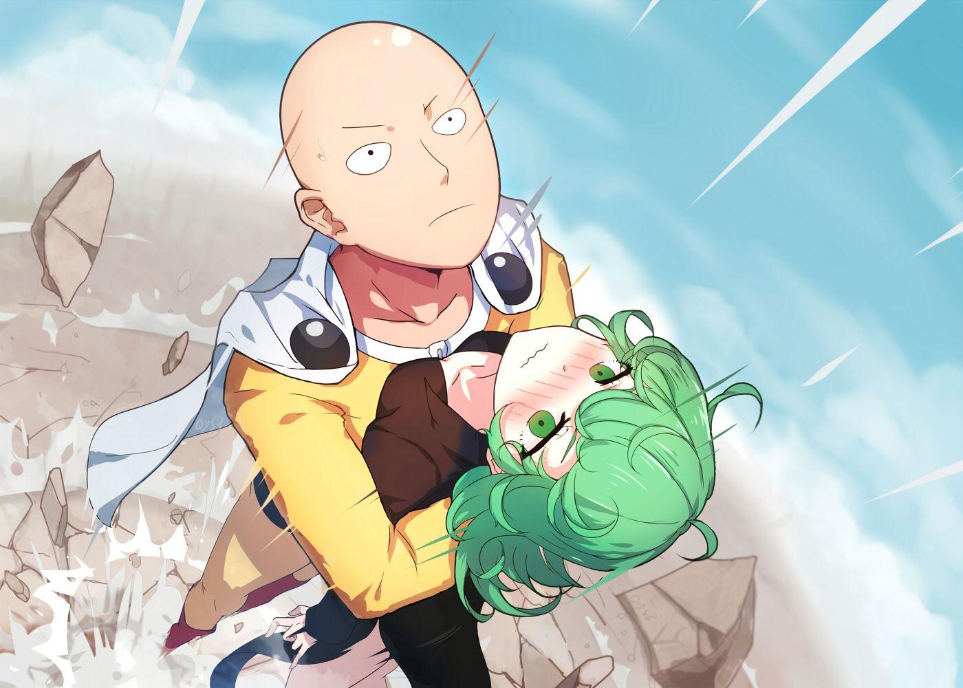 Saitama y Tatsumaki OnePunch Man (Parodia, Comedia
