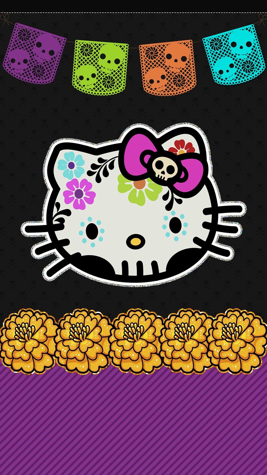 hello kitty cell phone wallpaper, lock screen pic, dia de los