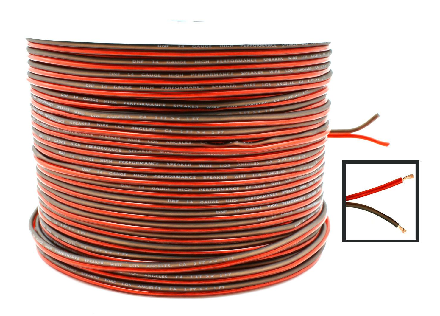 Audio Cables and Interconnects: Dnf 14 Gauge Speaker Wire For Car ...