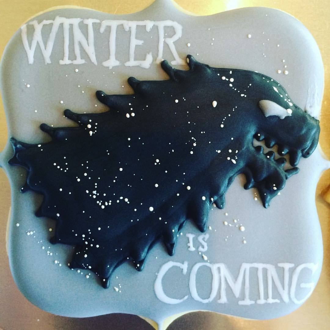Winter Is Coming Game Of Thrones Custom Cookie Http