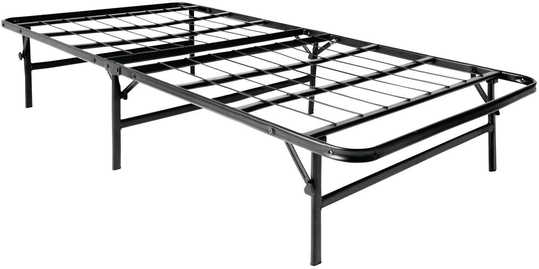 Genius Base Ii Folding Bed With Images Metal Platform Bed Bed