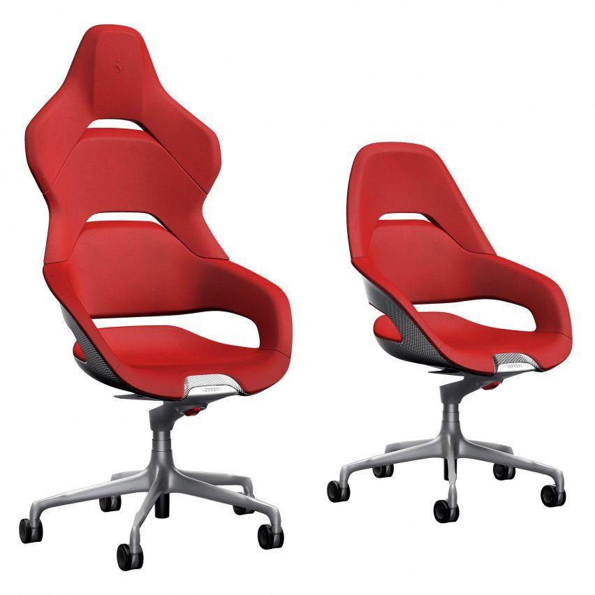 Ferrariu0027s Design Team Has Created An Office Chair For Italian Brand  Poltrona Frau That Resembles The Driveru0027s Seat Of A Sports Car.