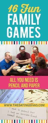 50 Fun and Crazy Family Games – From
