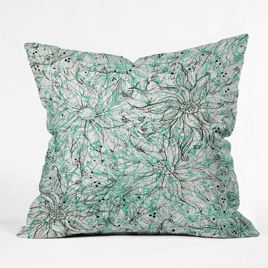 Aqua Pillows, Aqua/gray Walls And Hunter Green Couch? Kind