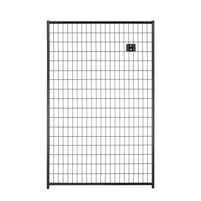 Lucky Dog 6 ft. H x 4 ft. W Black Welded Wire Panel | Gates, Fences ...