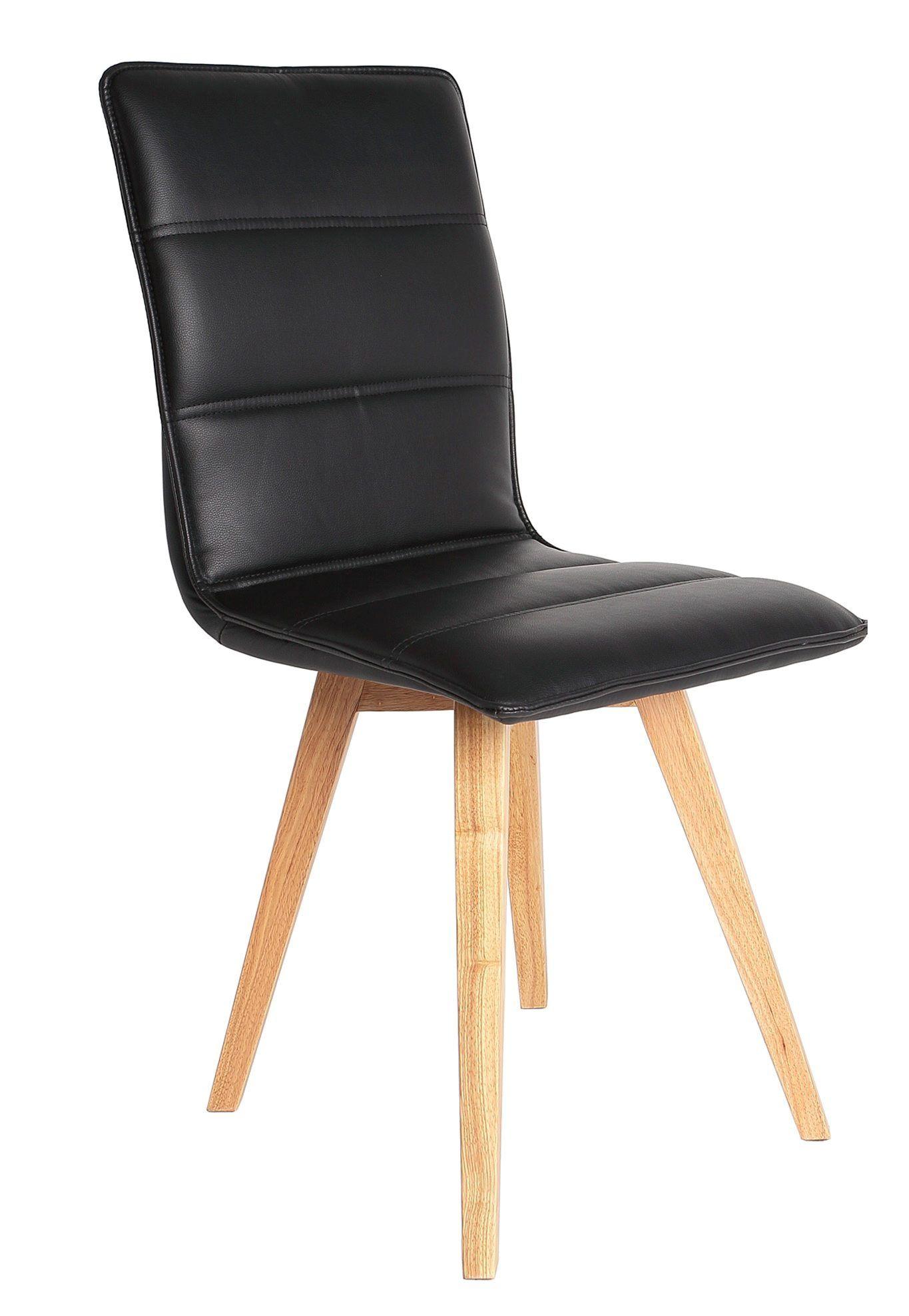 chaise scandinave karla noir but scandinave noir chaise salleamanger - Chaise Scandinave Noir