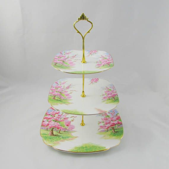 Royal Albert Vintage Cake Stand Three-Tier