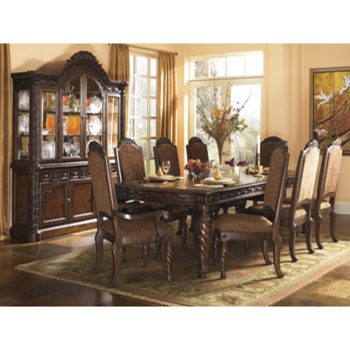 Charmant North Shore Ashley Bedroom Furniture | ... ASHLEY Ashley Furniture North  Shore Dining Room