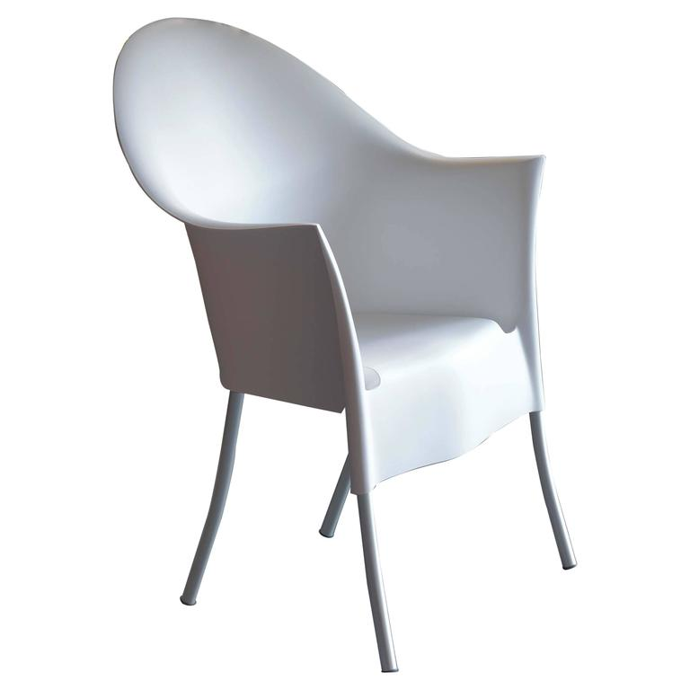 Excellent Philippe Starck Armchair Lord Yo White Black Light Cjindustries Chair Design For Home Cjindustriesco