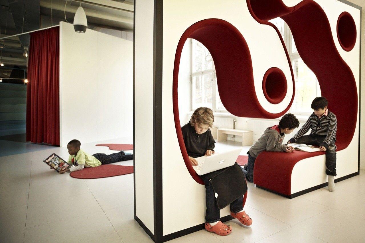 #atolyearch_kindergarten_ffurniture Vittra Telefonplan / Rosan Bosch - 4