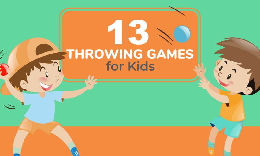 13 Throwing Games for Kids (Great for PE Class Throwing