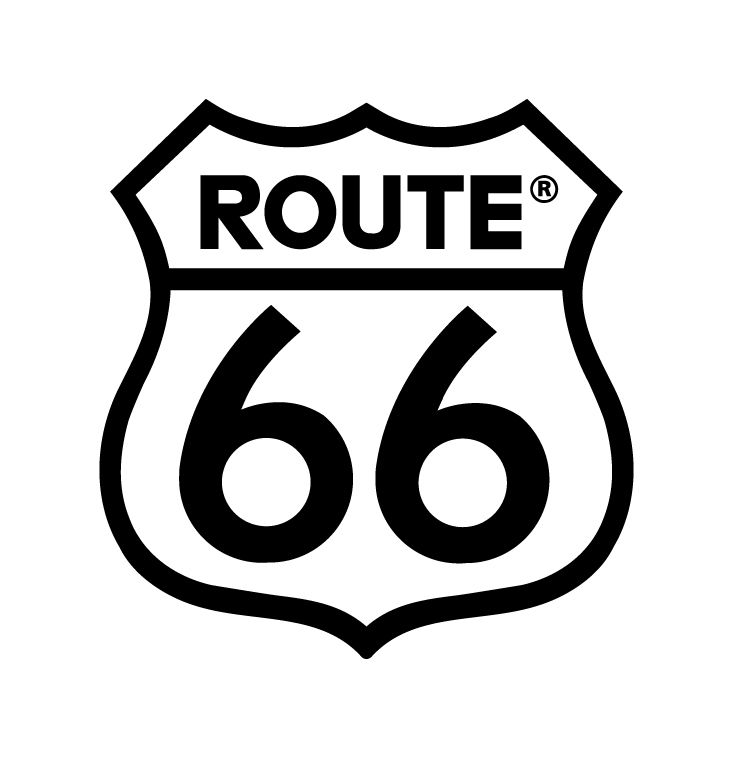 route 66 logo ~ bucket list, rental car, convertible of course