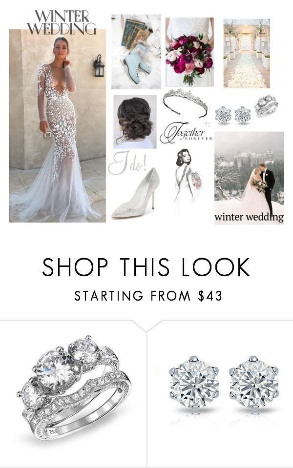 """Winter Wedding"" by ami2004 ❤ liked on Polyvore featuring Bling Jewelry and WALL"
