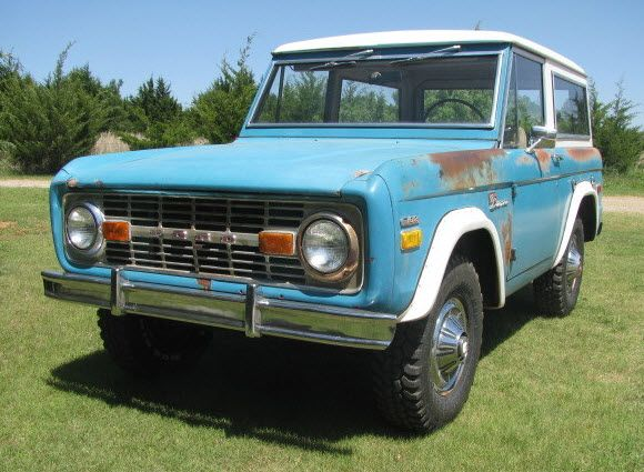 Don T Paint It Well Aged 1970 Ford Bronco Sport Ford Bronco