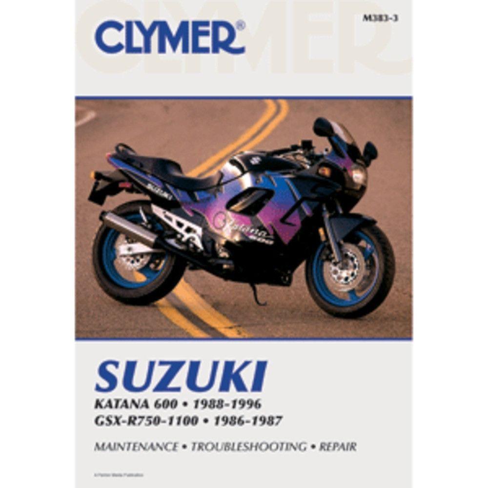 Clymer Kawasaki Ex500 Gpz500s Amp Ninja 500r 19872002 1996 1100 Wiring Diagram Vulcan 700 Repair Manual By Suzuki Katana 600 Boat Parts For Less
