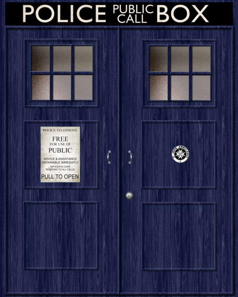 11 S Tardis Door Iphone Wallpaper I Have This As My Lock Screen