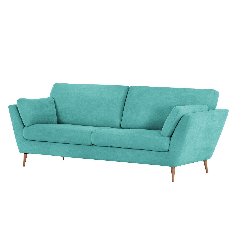 sofa lorneville 3 sitzer webstoff aqua norrwood jetzt bestellen unter httpsmoebelladendirektdewohnzimmersofas2 und 3 sitzer sofasuid - Wohnzimmer Aqua